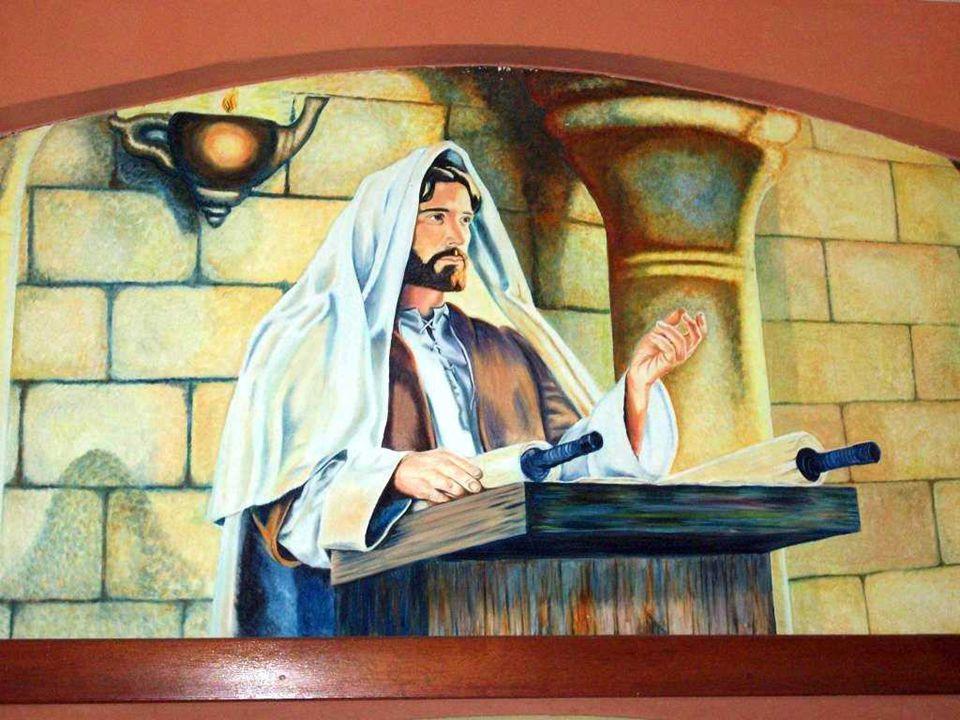 No Evangelho, Cristo proclama e atualiza a PALAVRA DE DEUS, numa reunião de sábado, na sinagoga de Nazaré. (Lc 1,1-4;4,14-21) É o início do evangelho