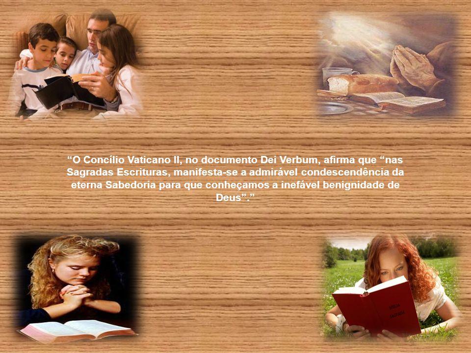 """ORAÇÃO """"Senhor, nosso Deus, enviai o vosso Espírito a fim de acolhermos a vossa Palavra em nosso coração e, por meio dela, possamos conhecer-Vos e tor"""