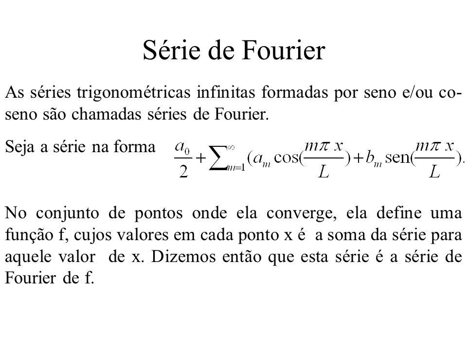 Periodicidade das funções seno e co-seno.
