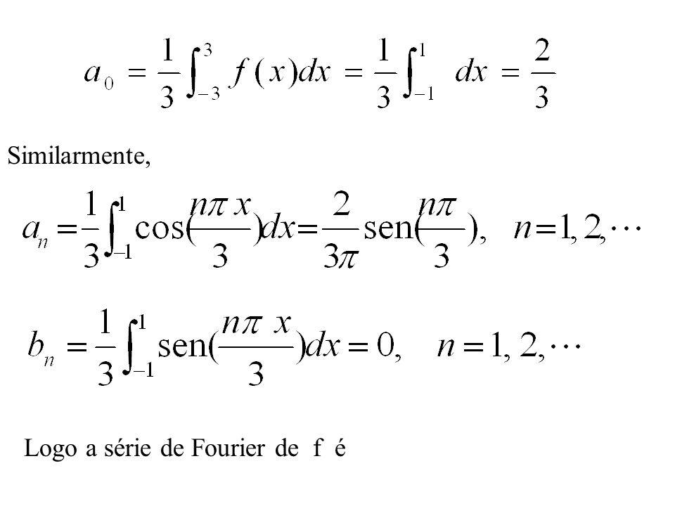 Funções pares e ímpares: Analiticamente, f é uma função par se seu domínio contém o ponto -x sempre que contiver o ponto x e se f (x) = f (-x) para cada x do domínio de f.