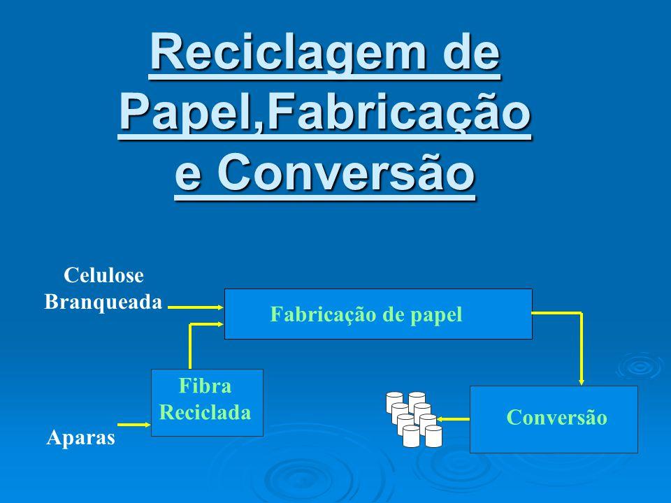 Reciclagem de Papel,Fabricação e Conversão Fibra Reciclada Celulose Branqueada Aparas Fabricação de papel Conversão