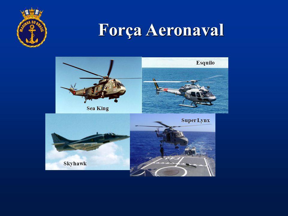 Força Aeronaval Sea King Skyhawk Esquilo Super Lynx