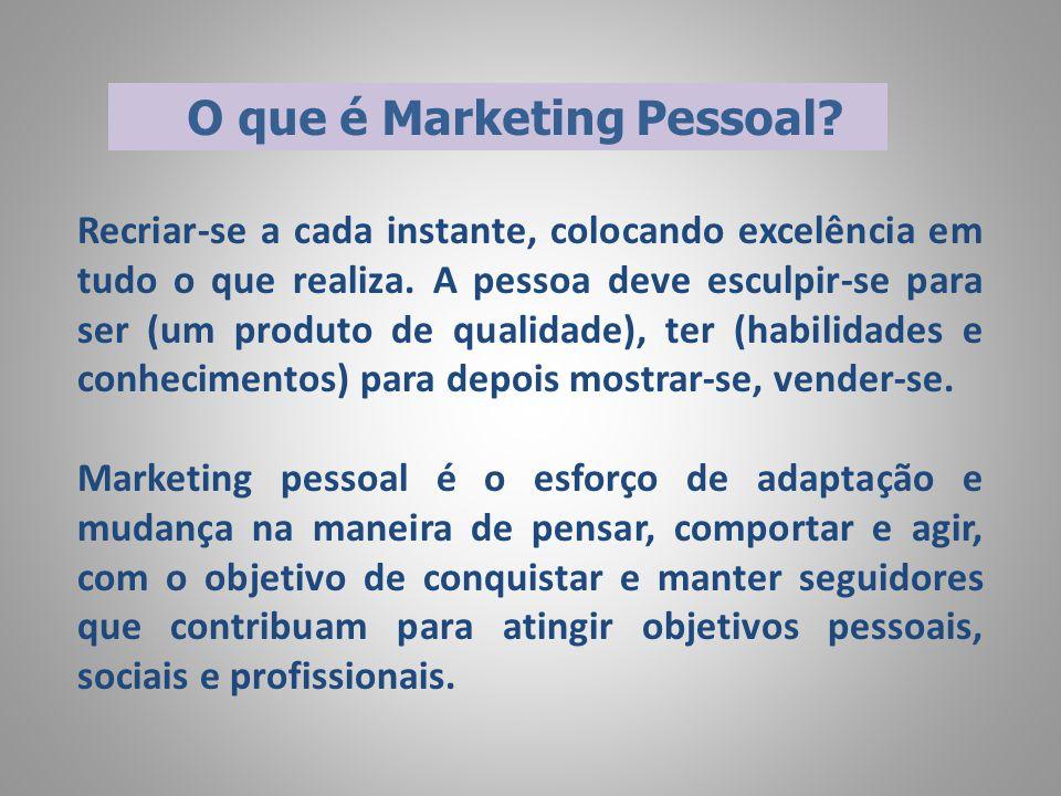 Medidas de Sucesso de Marketing Pessoal  Market-Share: Alguém que não ocupa as classes mais altas pode ser considerado um insucesso.