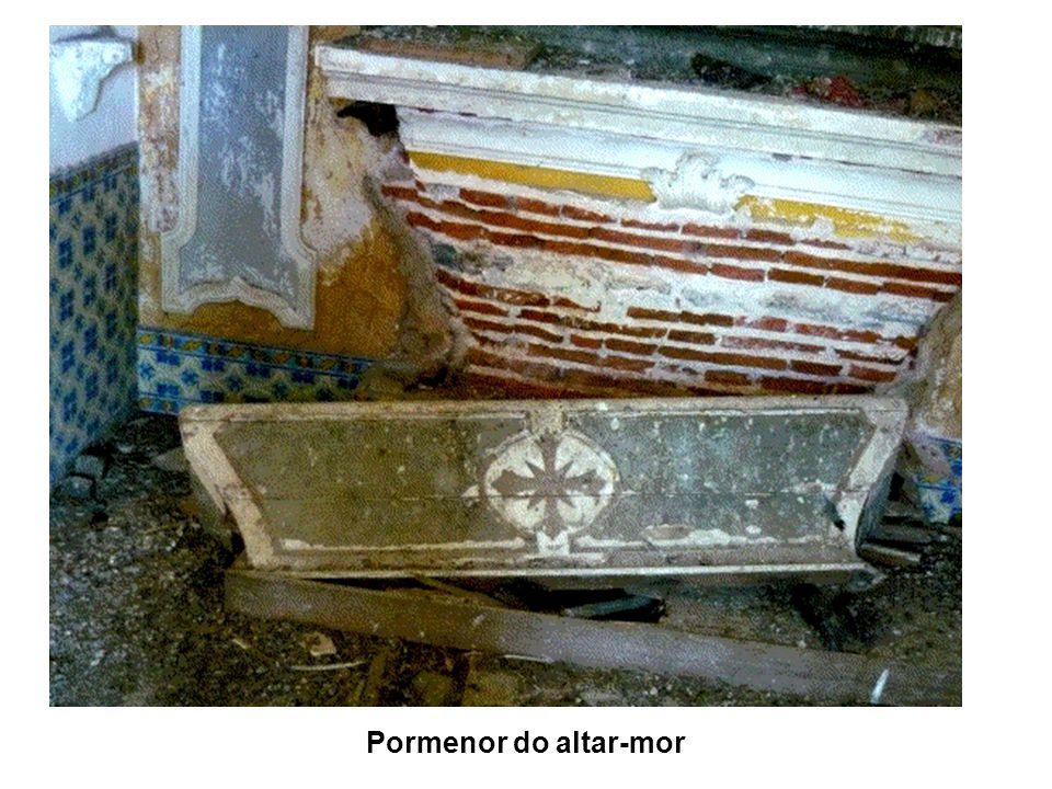 Pormenor do altar-mor