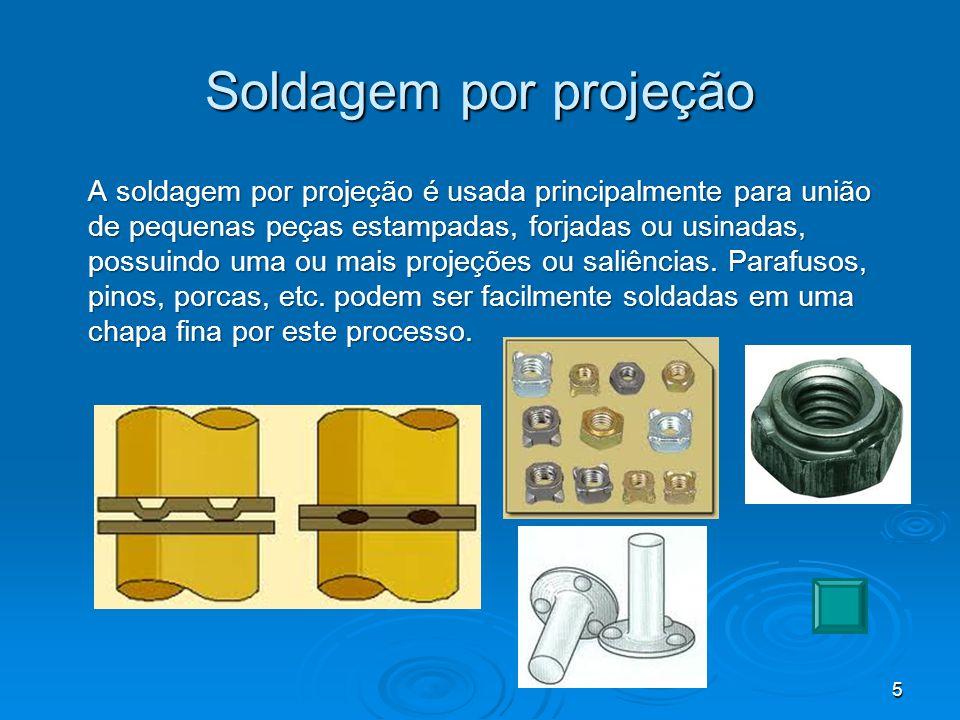 Soldagem por costura Na soldagem por costura, uma série de pontos de solda consecutivos é feita, de modo a produzir uma solda contínua, por sobreposição parcial de diversos pontos.