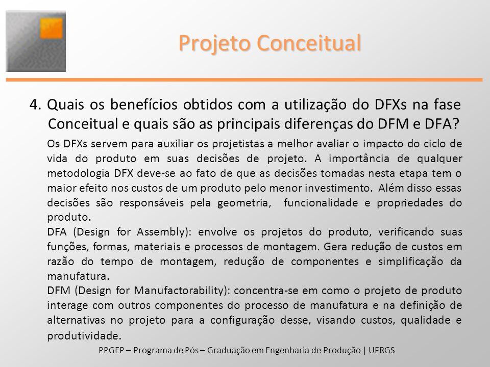 PPGEP – Programa de Pós – Graduação em Engenharia de Produção | UFRGS Projeto Detalhado 5.