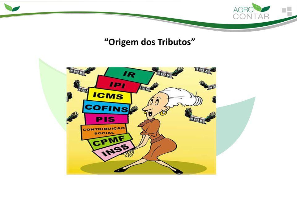 1º - ORIGEM DOS TRIBUTOS - Os Tributos tiveram sua origem nos primórdios da humanidade.