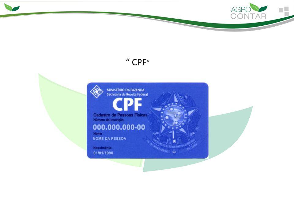 """"""" CPF """""""