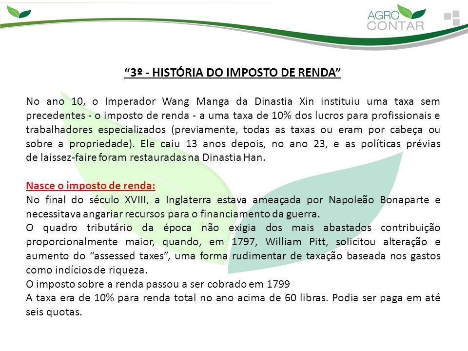 Nasce o Imposto de Renda no Brasil