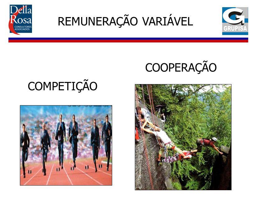 COMPETIÇÃO REMUNERAÇÃO VARIÁVEL COOPERAÇÃO