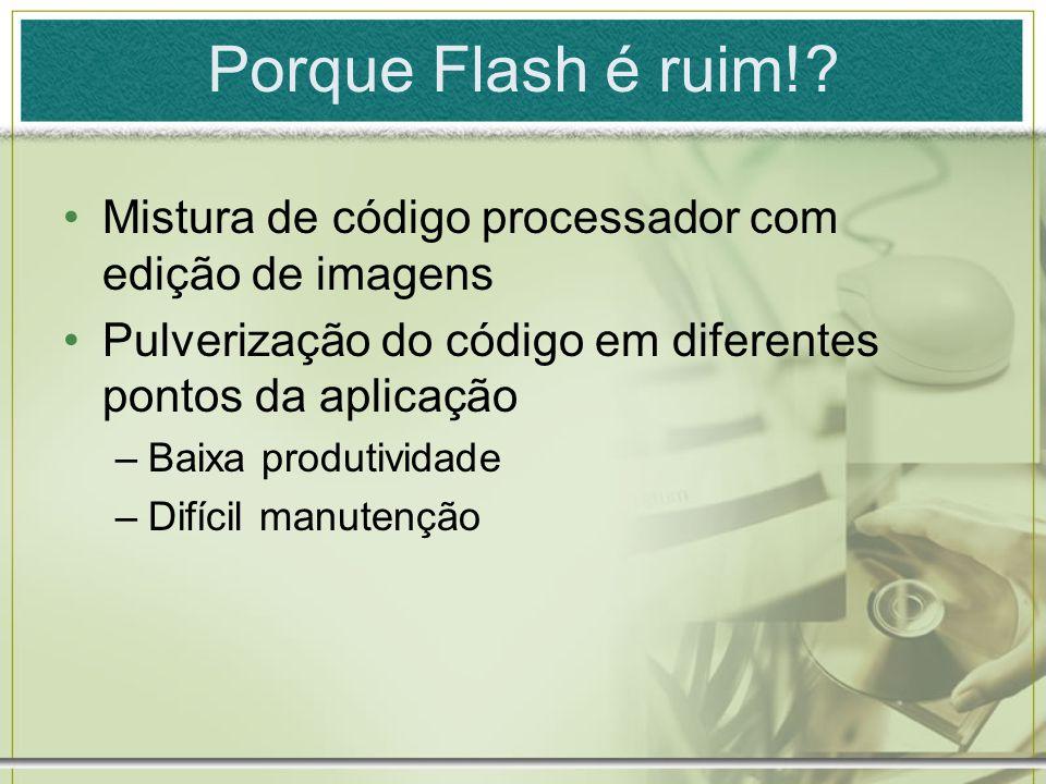 Porque Flash é ruim!.