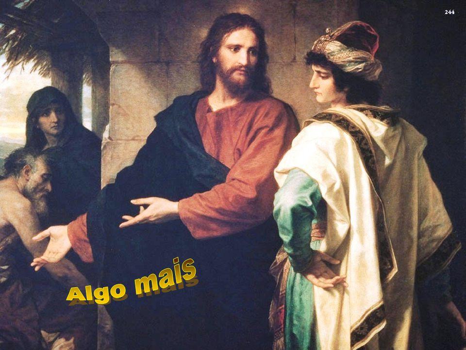 Cristo nos dirige ainda hoje o mesmo convite: Vai e vende TUDO...