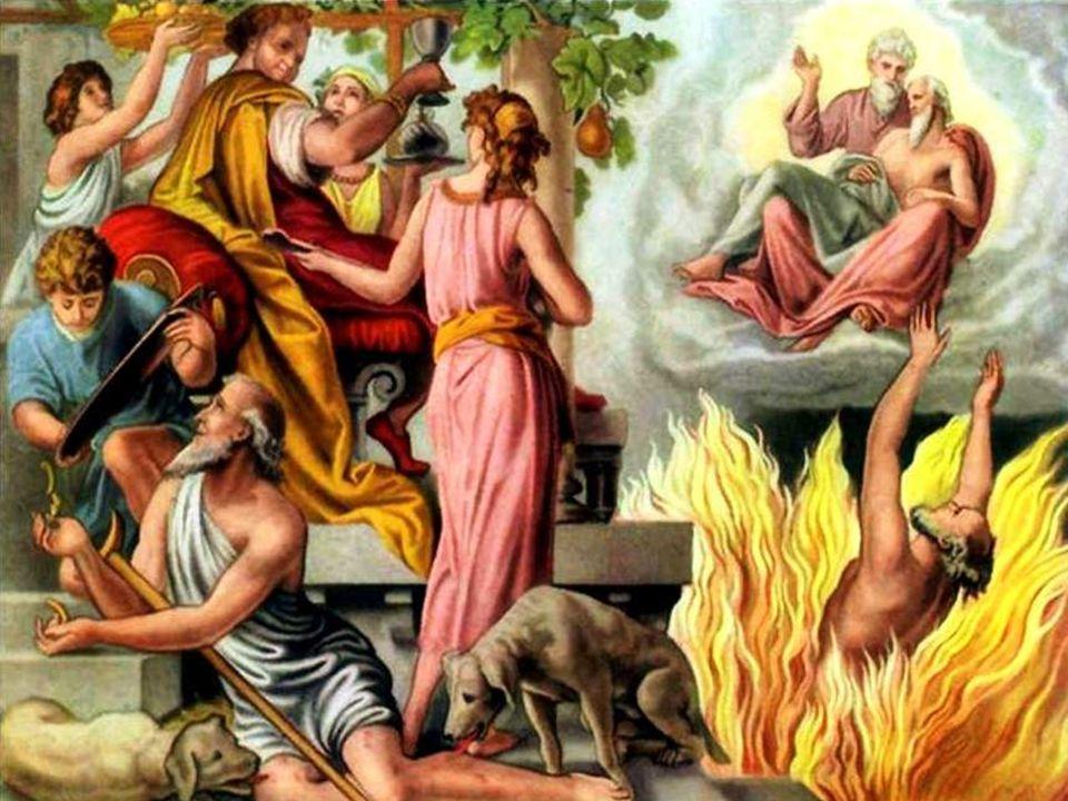 - Um DIÁLOGO entre o rico e Abraão, > Proposta: