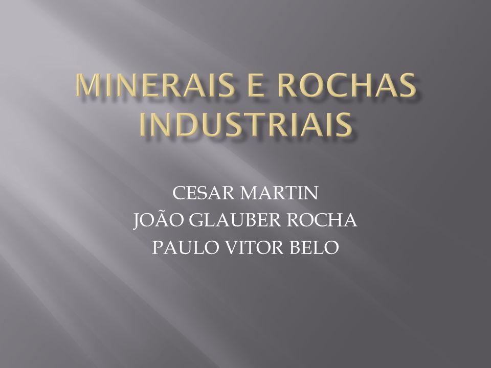 CESAR MARTIN JOÃO GLAUBER ROCHA PAULO VITOR BELO