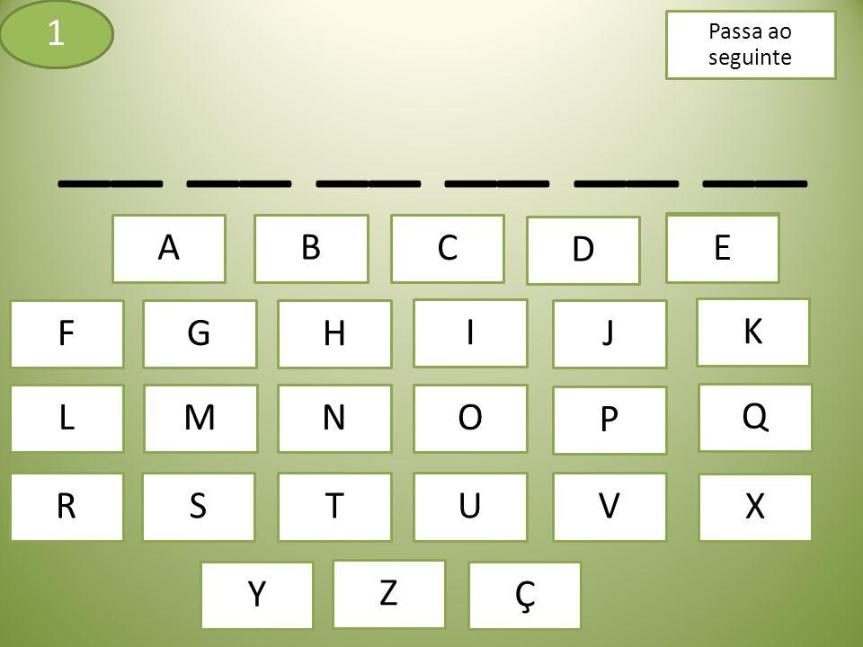 Este jogo é muito simples, tens de descobrir qual é a palavra que está escondida nos tracinhos, para isso tens em baixo as letras e para veres se existem ou não, basta clicares em cima delas.