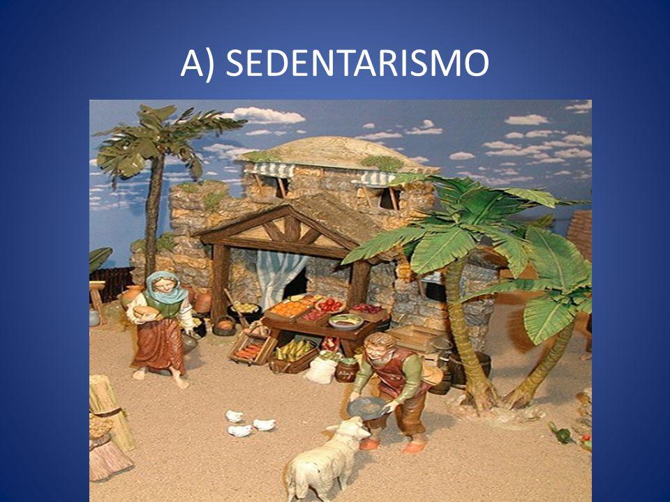 A) SEDENTARISMO