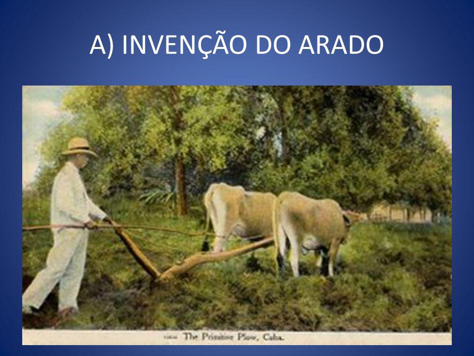 A) INVENÇÃO DO ARADO