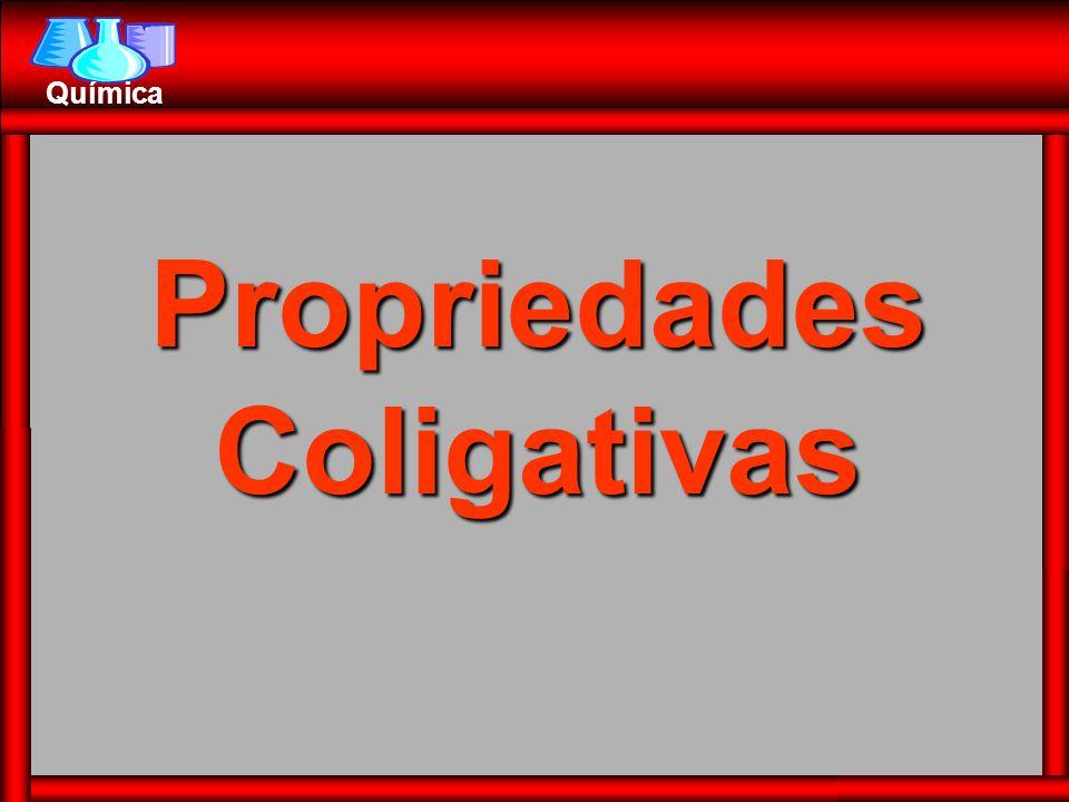 Química PropriedadesColigativas