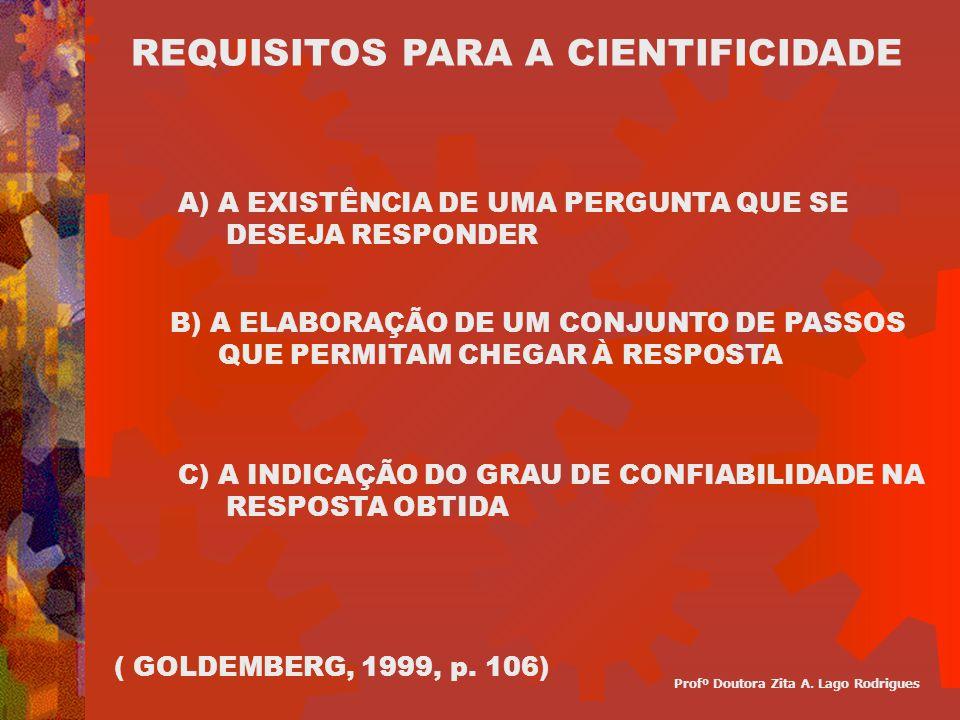 FASES DA PESQUISA CIENTÍFICA DECISÓRIA ( ESCOLHAS, DEFINIÇÕES, DELIMITAÇÕES ) CONSTRUTIVA ( PLANO E EXECUÇÃO ) REDACIONAL ( REDIGIR E APRESENTAR ) FASES Profº Doutora Zita A.