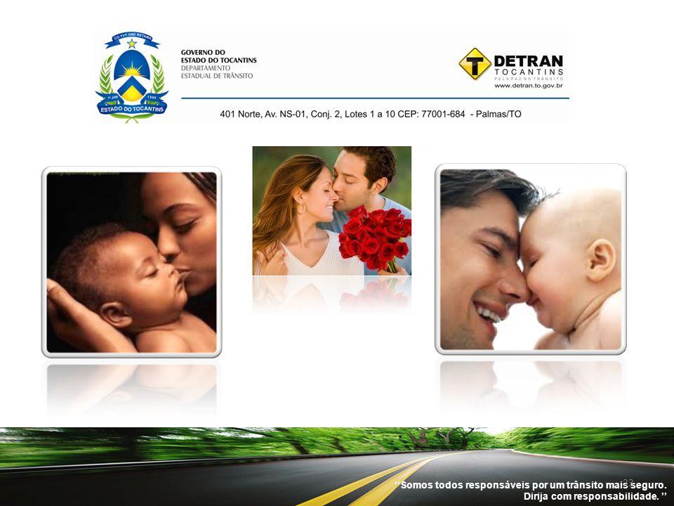 ''Somos todos responsáveis por um trânsito mais seguro. Dirija com responsabilidade. '' 23