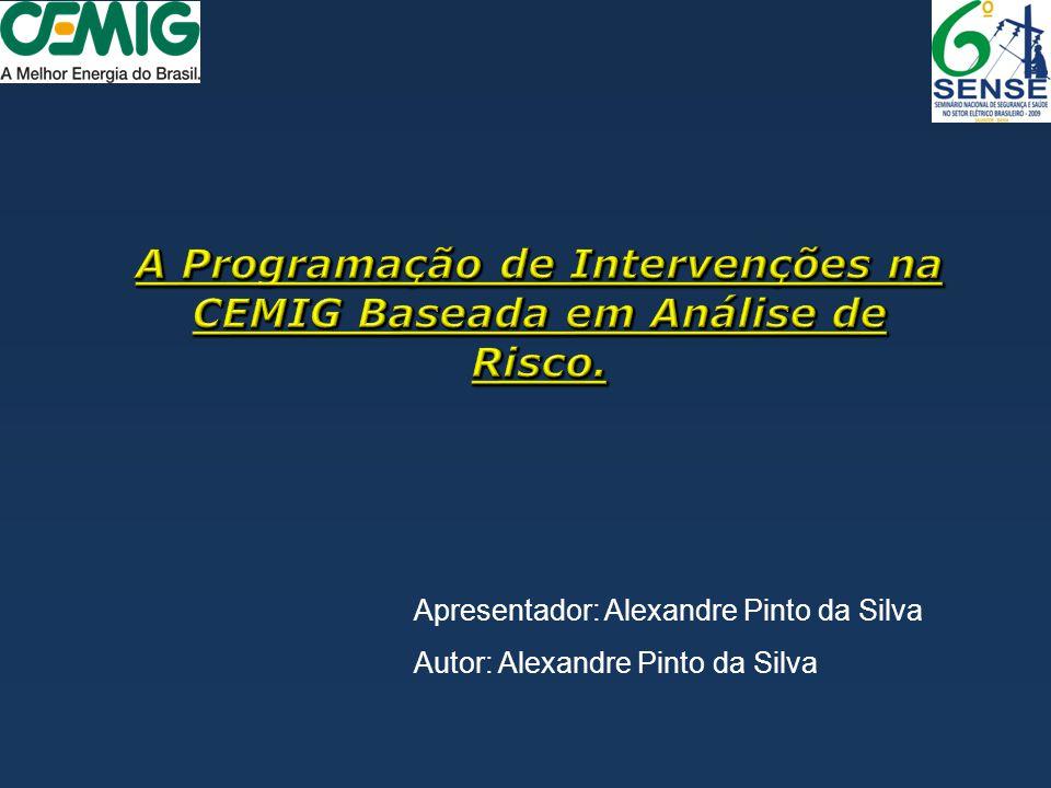 Apresentador: Alexandre Pinto da Silva Autor: Alexandre Pinto da Silva