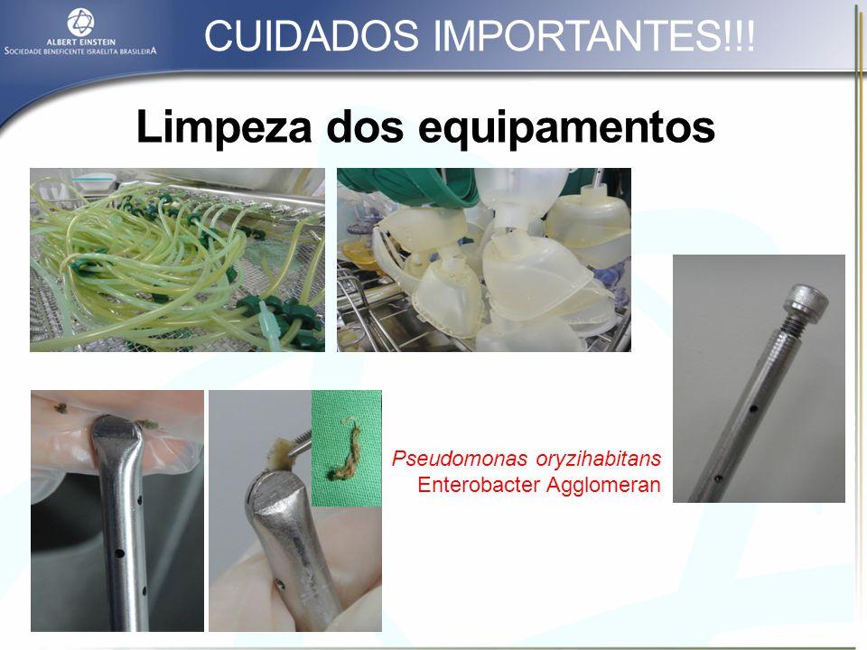 Limpeza e funcionalidade dos Racks CUIDADOS IMPORTANTES!!!