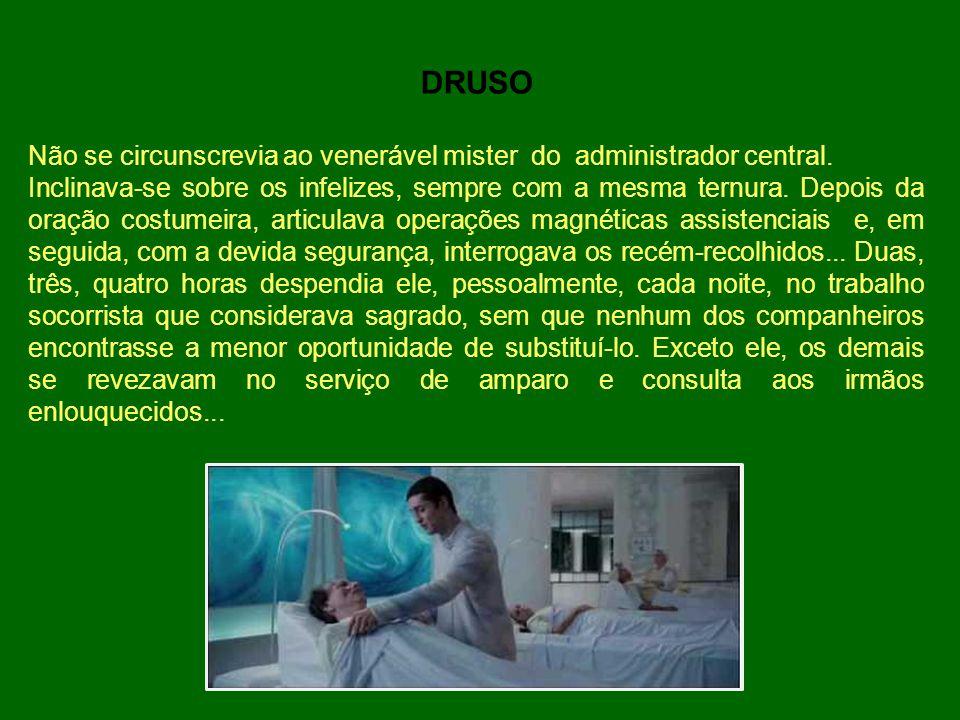 O CASO AÍDA Certa noite, pobre mulher cadaverizada foi trazida pelos enfermeiros espirituais à sala onde se processava o socorro habitual aos infelizes.