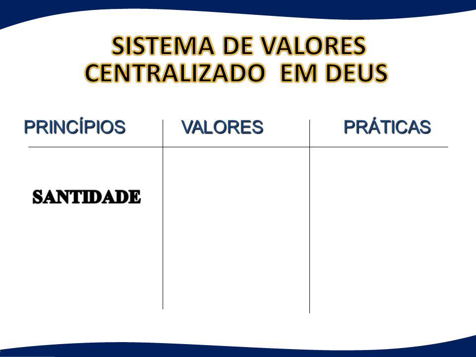 PRINCÍPIOS VALORES PRÁTICAS PRINCÍPIOS VALORES PRÁTICAS