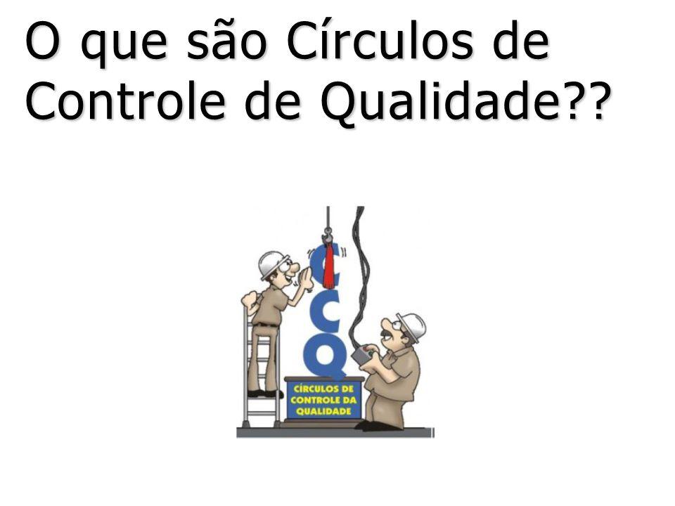 O que são Círculos de Controle de Qualidade??