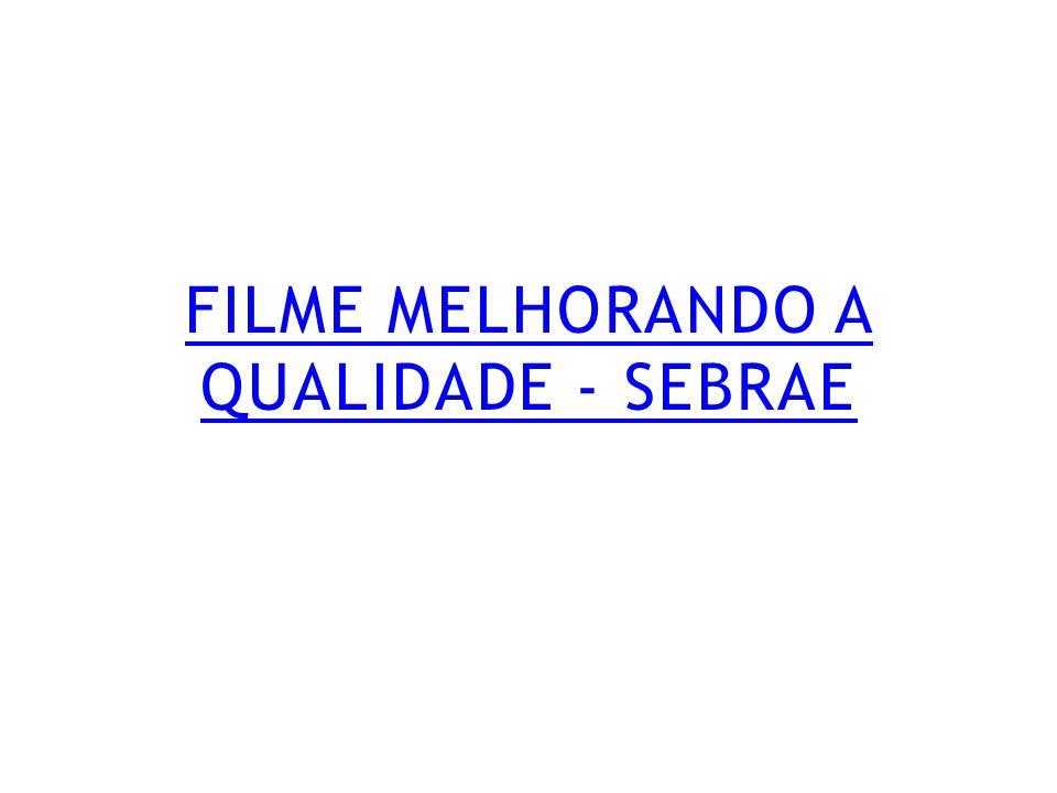 FILME MELHORANDO A QUALIDADE - SEBRAE