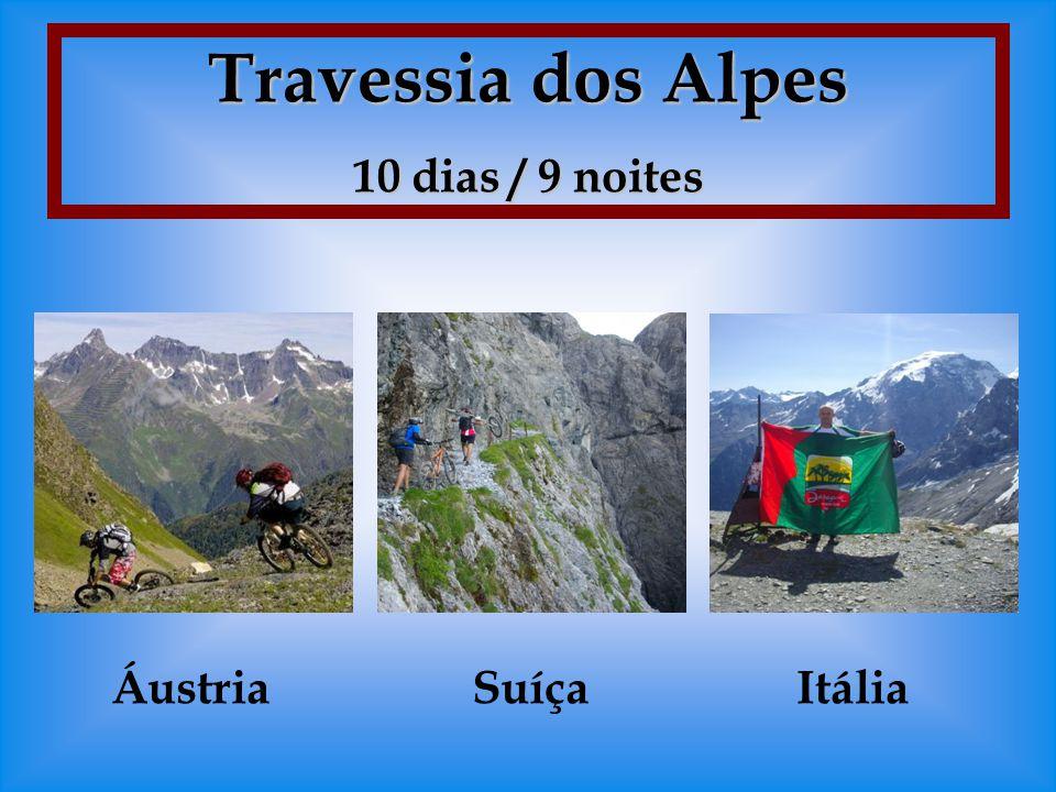 Travessia dos Alpes 10 dias / 9 noites SuíçaÁustriaItália