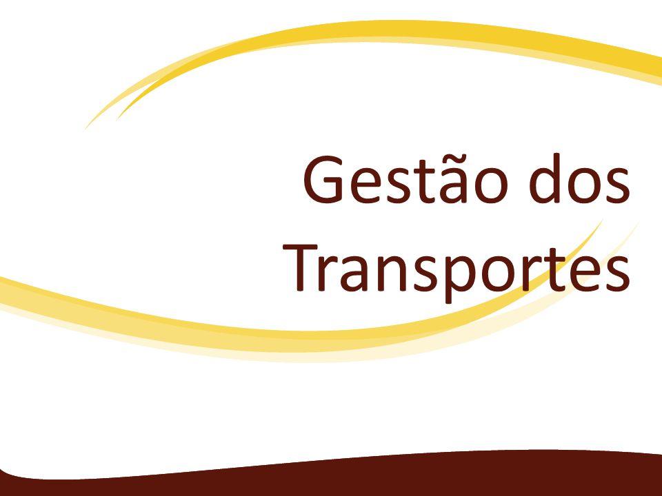 Gestão dos transportes Durante a Revolução Industrial houve um aumento do volume da produção de mercadorias e a necessidade de transportá-las com rapidez.