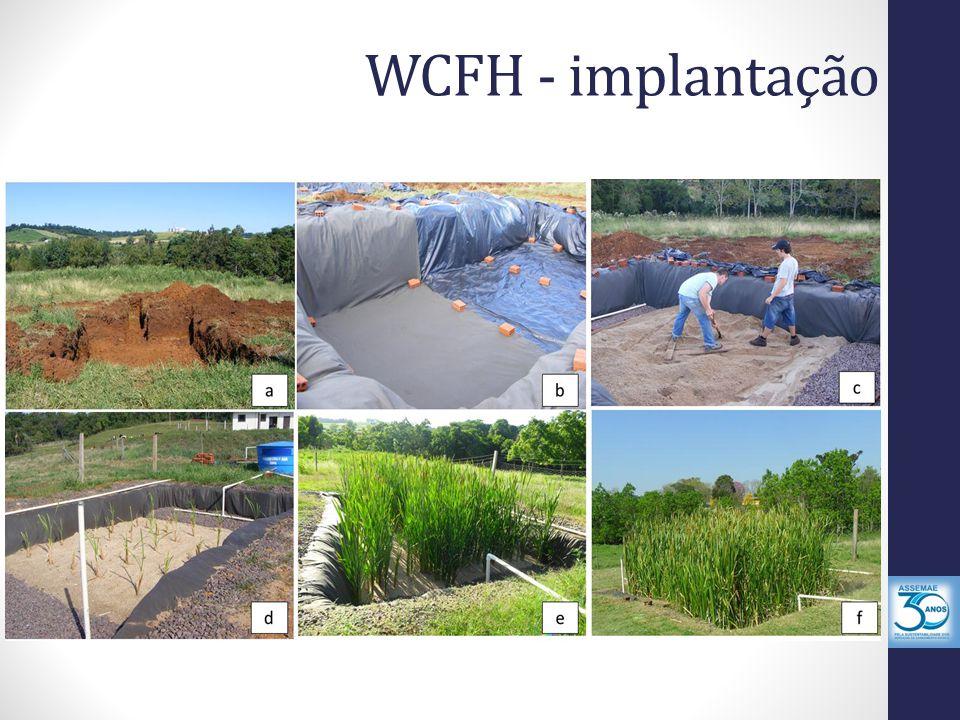 WCFH - implantação
