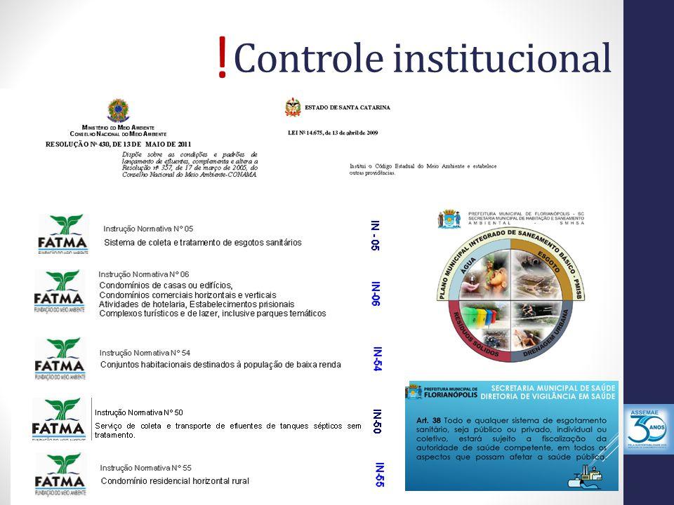 Controle institucional !