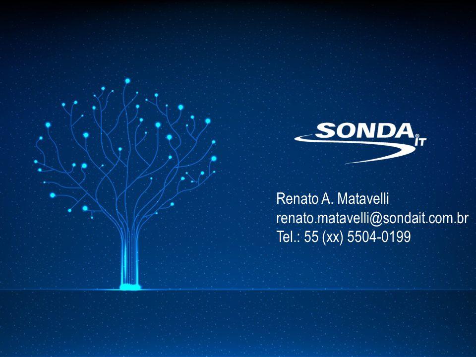 Renato A. Matavelli renato.matavelli@sondait.com.br Tel.: 55 (xx) 5504-0199