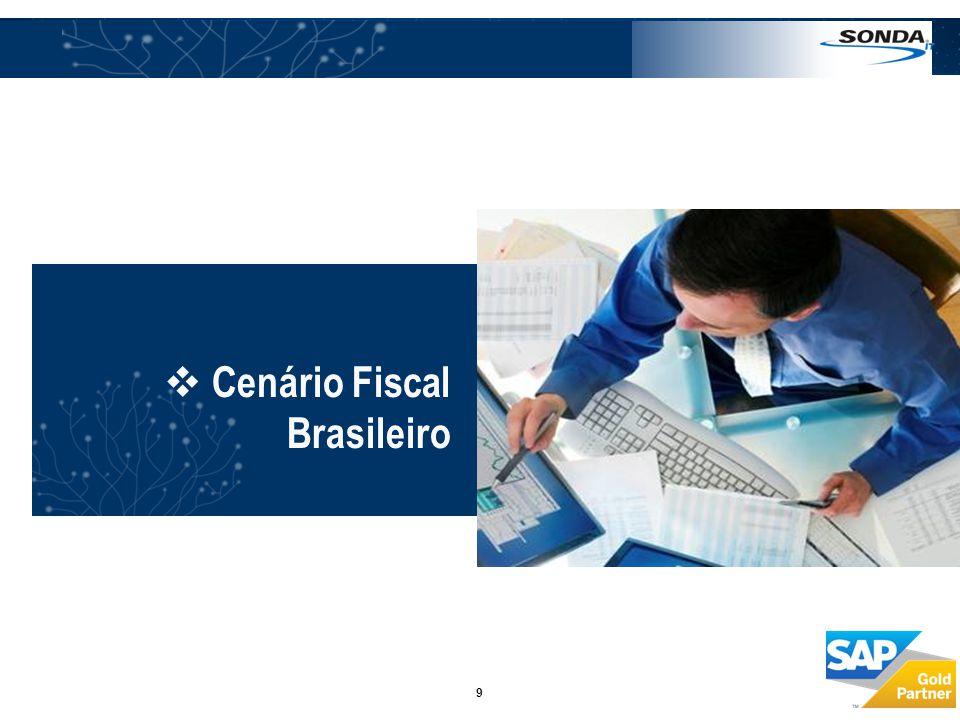  Cenário Fiscal Brasileiro 9