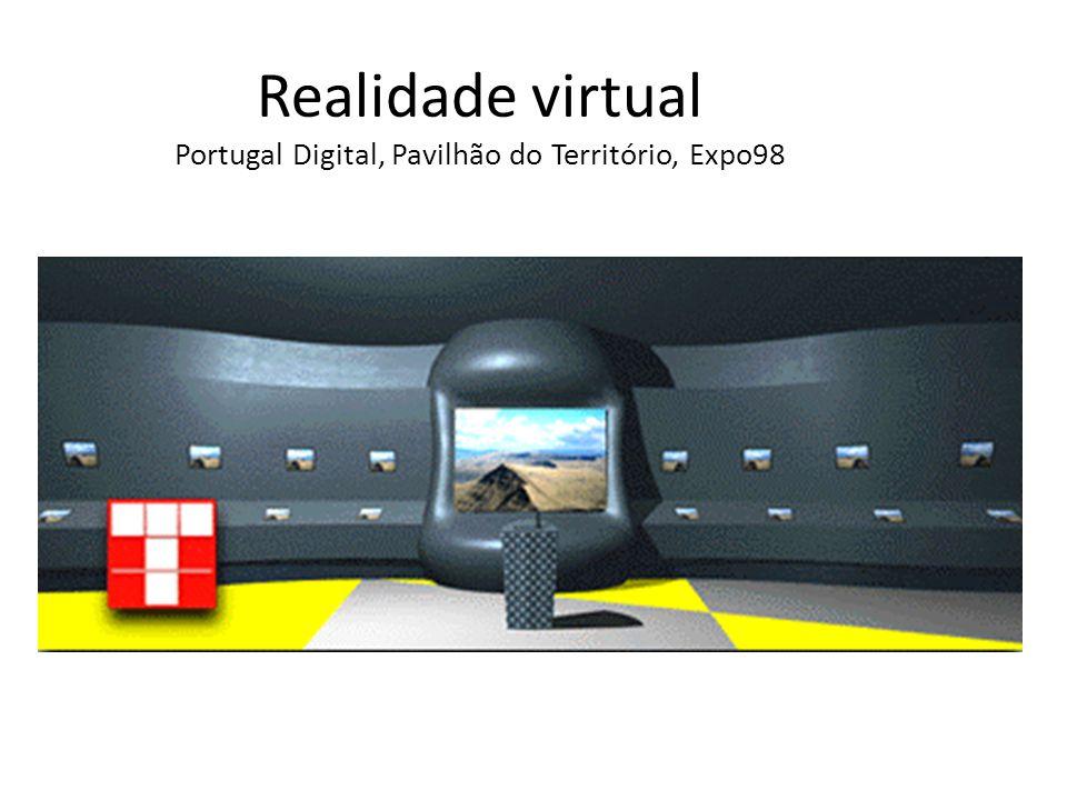 Realidade virtual Portugal Digital, Pavilhão do Território, Expo98