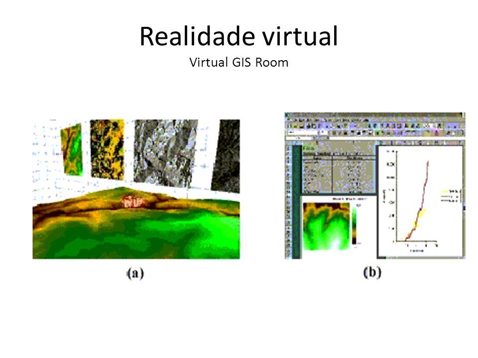 Realidade virtual Virtual GIS Room