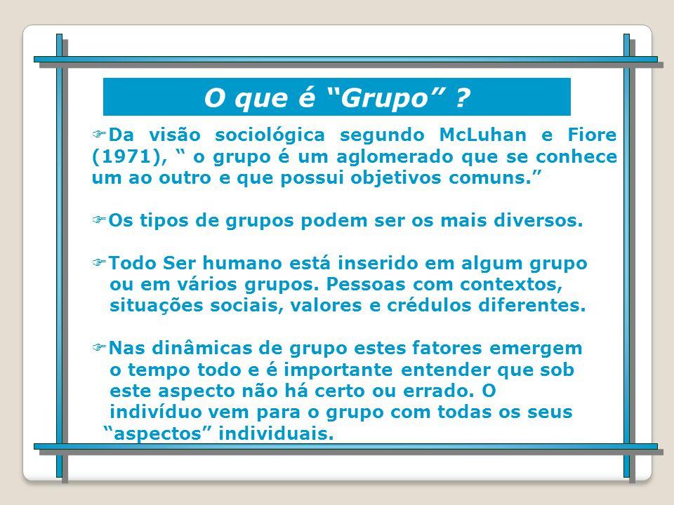 O que é Dinâmica de Grupo .