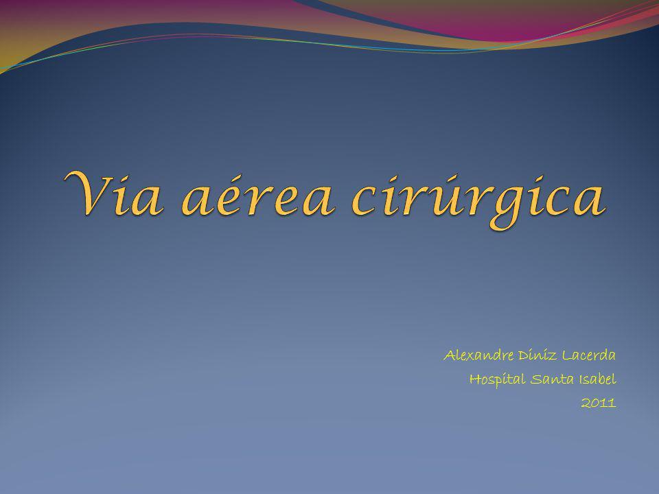 Alexandre Diniz Lacerda Hospital Santa Isabel 2011