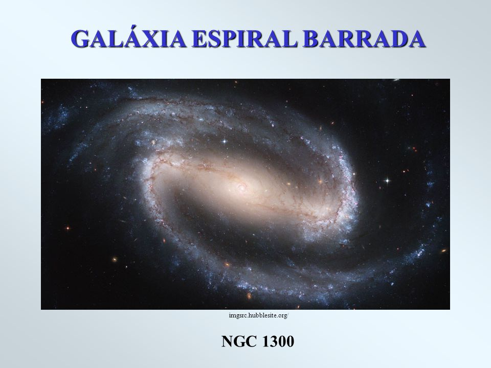 GALÁXIA ESPIRAL BARRADA NGC 1300 imgsrc.hubblesite.org/
