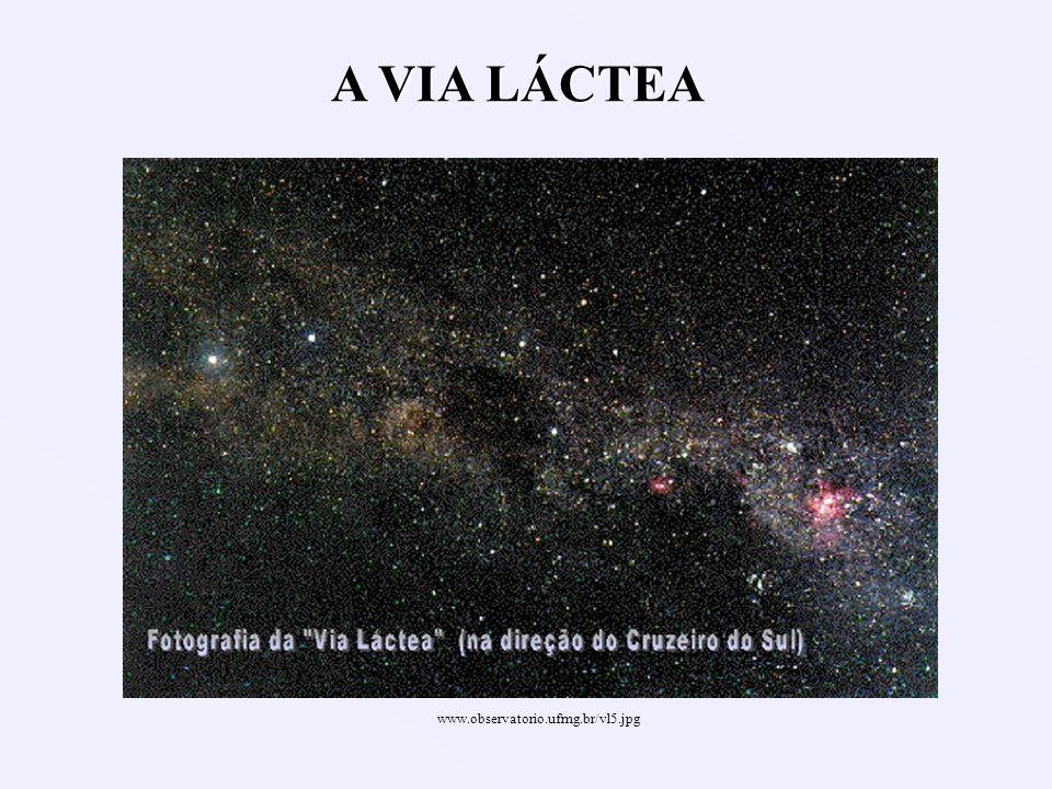 A VIA LÁCTEA www.observatorio.ufmg.br/vl5.jpg