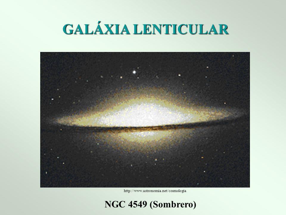 GALÁXIA LENTICULAR NGC 4549 (Sombrero) http://www.astronomia.net/cosmologia