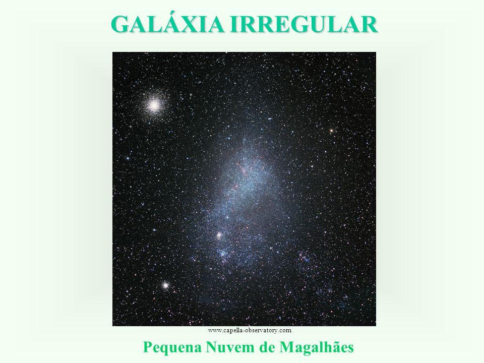GALÁXIA IRREGULAR Pequena Nuvem de Magalhães www.capella-observatory.com