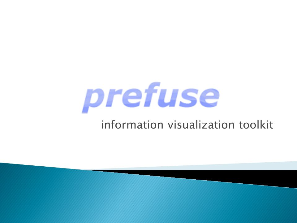 information visualization toolkit