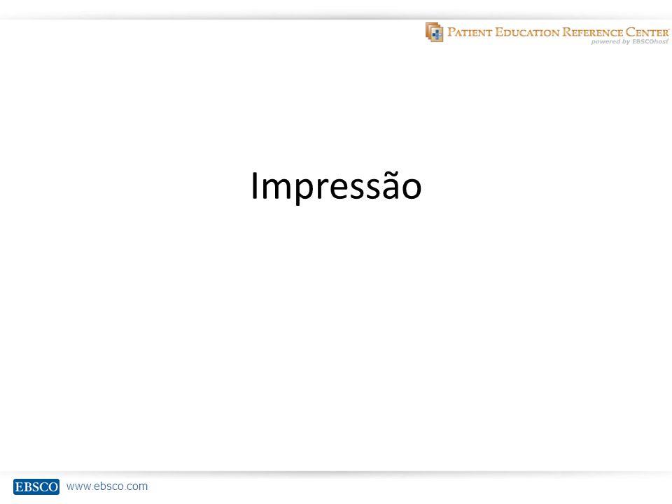 www.ebsco.com Impressão