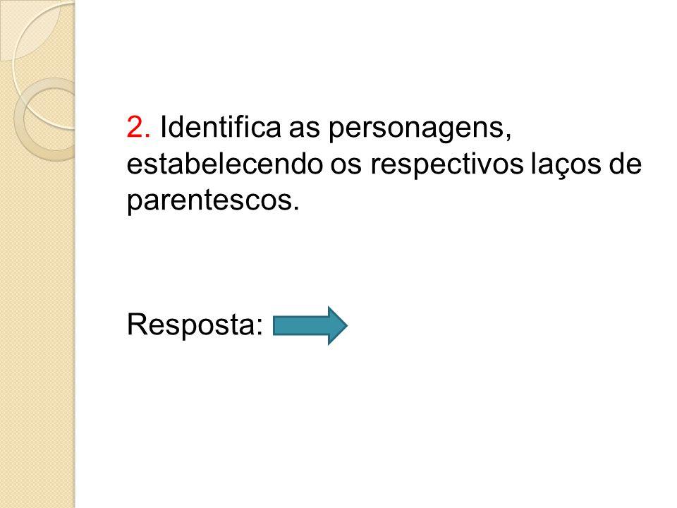 6.4.Os dois nomes para referir Pereira foi vagabundo (linha 9) e homem (linha 20).