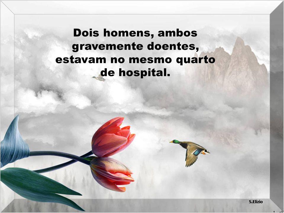 A enfermeira ficou muito triste e chamou os funcionários do hospital para que levassem o corpo.