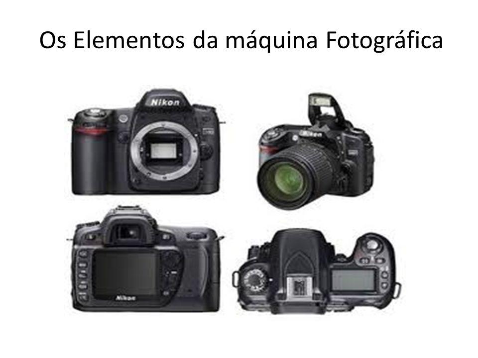 Os Elementos da máquina Fotográfica