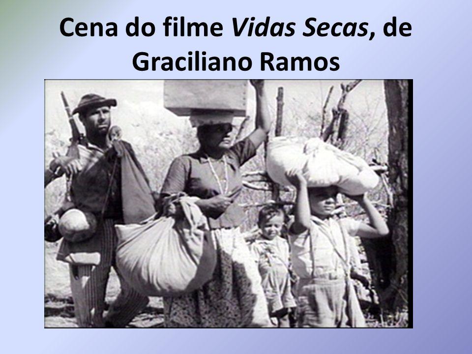Cena do filme Vidas Secas, de Graciliano Ramos